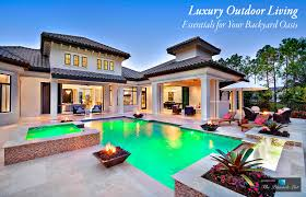 luxury outdoor living u2013 essentials for your backyard oasis the