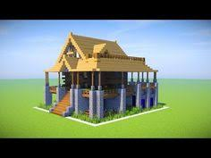 How To Build A Bookcase In Minecraft A Simple Easy To Build Mansion Minecraft Project Minecraft