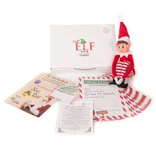vip christmas elf pack with elf nice list certificate 24 reports