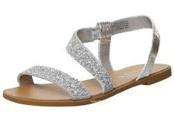 buy office sparkle embellished sling back sandals silver snake