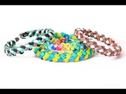 bracelet looms double images Mini double braid bracelet tutorial advanced rainbow loom jpg