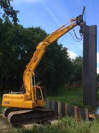 Steel Sheet Piling Cost Estimate by Pitching The Sheet Piling Inpin Retaining Walls