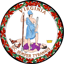 State Flag Meanings Flag And Seal Of Virginia Wikipedia