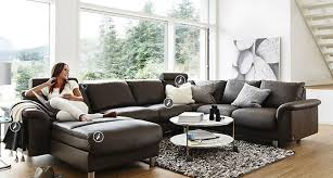 Ekornes Sectional Sofa Unique And Comfortable Seating Design For Home Interior Furniture