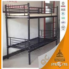 2 floor bed modern home furniture metal bed frames steel bunk bed 2 floor