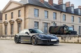 slate grey porsche unique dark grey porsche 911 r up for grabs in paris