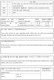 Resume For It Support How To Write Your Resume For A Japanese Company Guidable