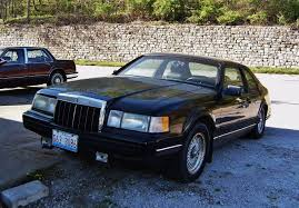 curbside classic 1990 lincoln mark vii lsc special edition u2013 not