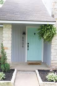 Teal Front Door by Hello Blush Front Door U2013 Chalkfulloflove
