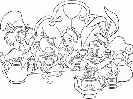 best of alice in wonderland coloring pages for kids womanmate com