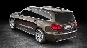 luxury mercedes suv the mercedes gls the s class among suvs mercedes