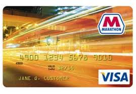 prepaid gas card the marathon visa credit card can earn almost 12 back but you