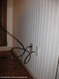Install Beadboard Wainscoting - how to install beadboard paneling the homebuilding remodel guide