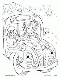 the magic bus coloring pages coloring home