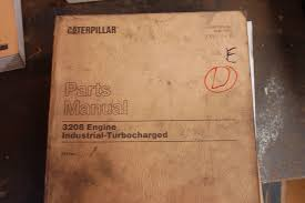 cat caterpillar 3208 diesel engine parts manual book catalog owner
