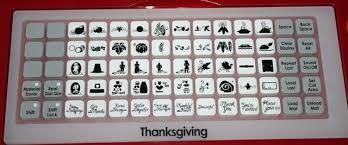 pilgram hat thankful book thanksgiving cricut cartridge