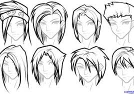 anime guy hairstyles drawing different anime hairstyles fade