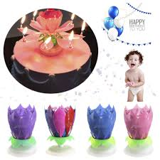 spinning birthday candle aliexpress buy birthday candle 14 musical spinning