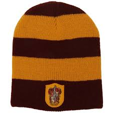 harry potter house gryffindor knit slouch beanie buycostumes com
