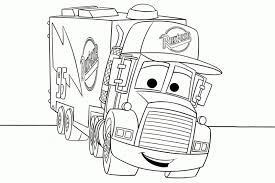 tractor trailer coloring pages many interesting cliparts