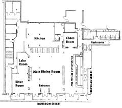 floor plan for a restaurant french quarter private party floor plan new orleans private