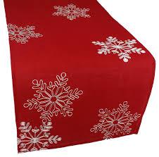 red and white table runner table runner christmas christmas table runner ideas transitional