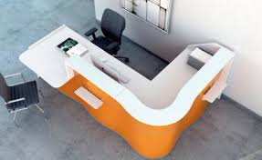 Corner Reception Desk Wave Reception Desk Counters Reception Furniture Verve Workspace