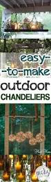 Outdoor Chandelier Diy Easy To Make Outdoor Chandeliers Picky Stitch