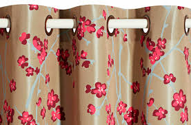 Paris Fabric Shower Curtain by Curtain Fabric Floral Pattern Cotton Polyester Sakura
