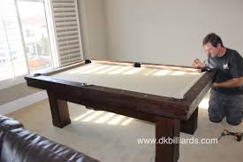 How To Clean Pool Table Felt by Bar Sized Rustic Pool Table Dk Billiards Pool Table Sales U0026 Service