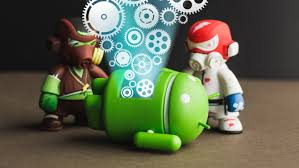 clean up your android device cache history files and