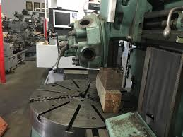 bullard spiral drive 42 vertical turret lathe machinestation