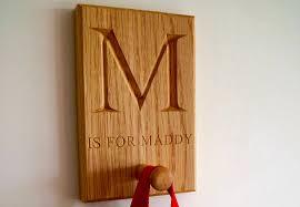 personalised wooden coat hooks makemesomethingspecial com