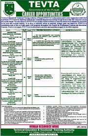 Beautician Jobs Tevta Jobs April 2017 Application Form Instructors U0026 Shop