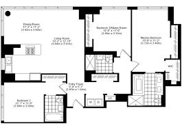 3 Bedroom 2 1 2 Bath Floor Plans Bedroom Bath Apartment Floor Plans And Arrow Floorplan