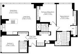 3 bedroom 2 bath apartment floor plans