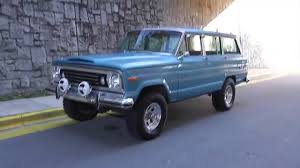 1970 jeep wagoneer interior 1975 jeep wagoneer for sale youtube
