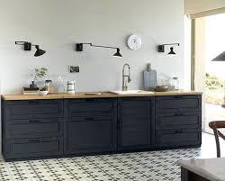 cuisine noir mat et bois cuisine noir mat ikea best cuisine noir et blanc et bois gallery