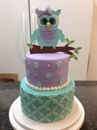 baby shower owl cakes owl baby shower cake cake by melanie mangrum cakesdecor