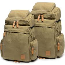 travel backpacks images Retro camping zippered backpack washing color canvas extensible jpg