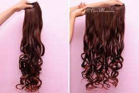 hair clip rambut cara instan rambut panjang dan tebal dengan hairclip