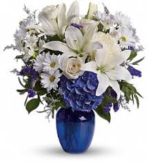 Affordable Flowers - beautiful in blue in royal oak mi affordable flowers