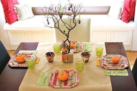 thanksgiving table celebrations at home