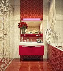 Modern Bathroom Designs by Bathroom Red And White Bathroom Design Ideas With Beige Modern