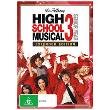 high school high dvd high school musical 3 senior year dvd big w