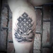 50 endless knot tattoo designs for men eternal ink ideas