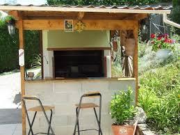 cuisine d ete barbecue grille barbecue grande dimension dans cuisine d été en plein air