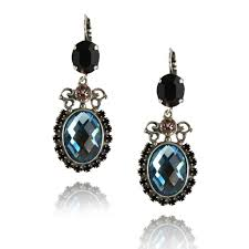 black drop earrings mariana black velvet earrings black mar e 1023 6 1073 sp6 en