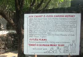 Nek Chand Rock Garden Waste Marvel Rock Garden S Creator Nek Chand Frozen In History