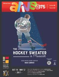 the hockey sweater a musical montreal theatre hub